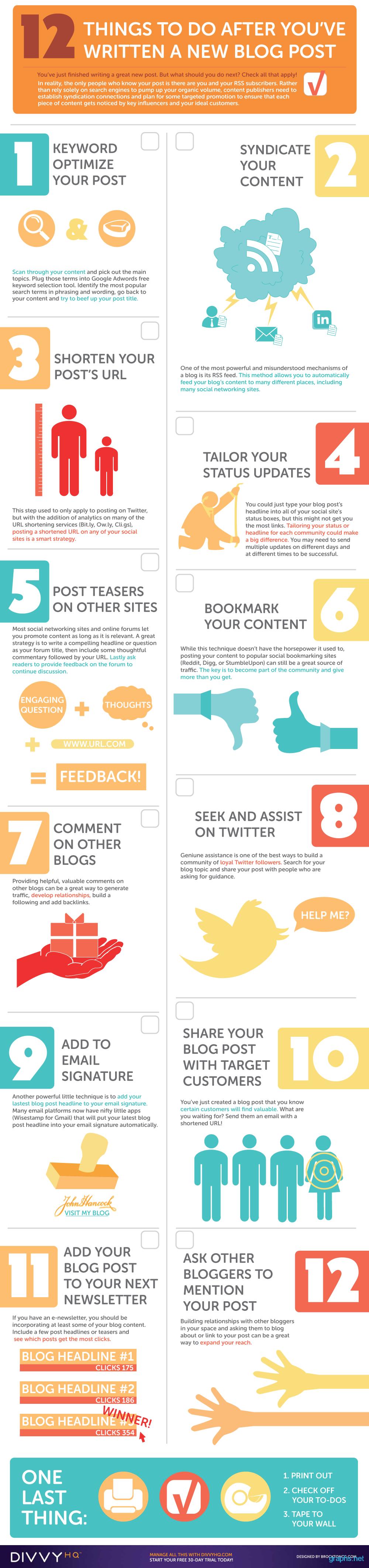 Effective blog post tips