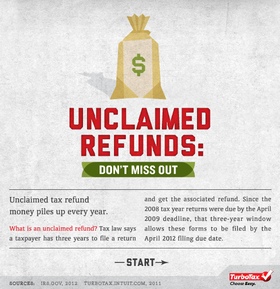 Unclaimed tax refunds