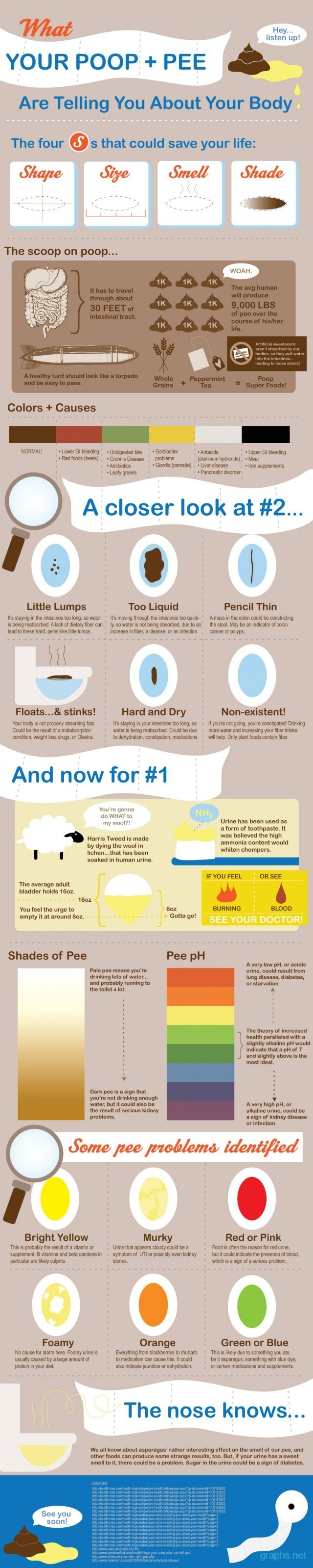 About Your Body poop and pee facts