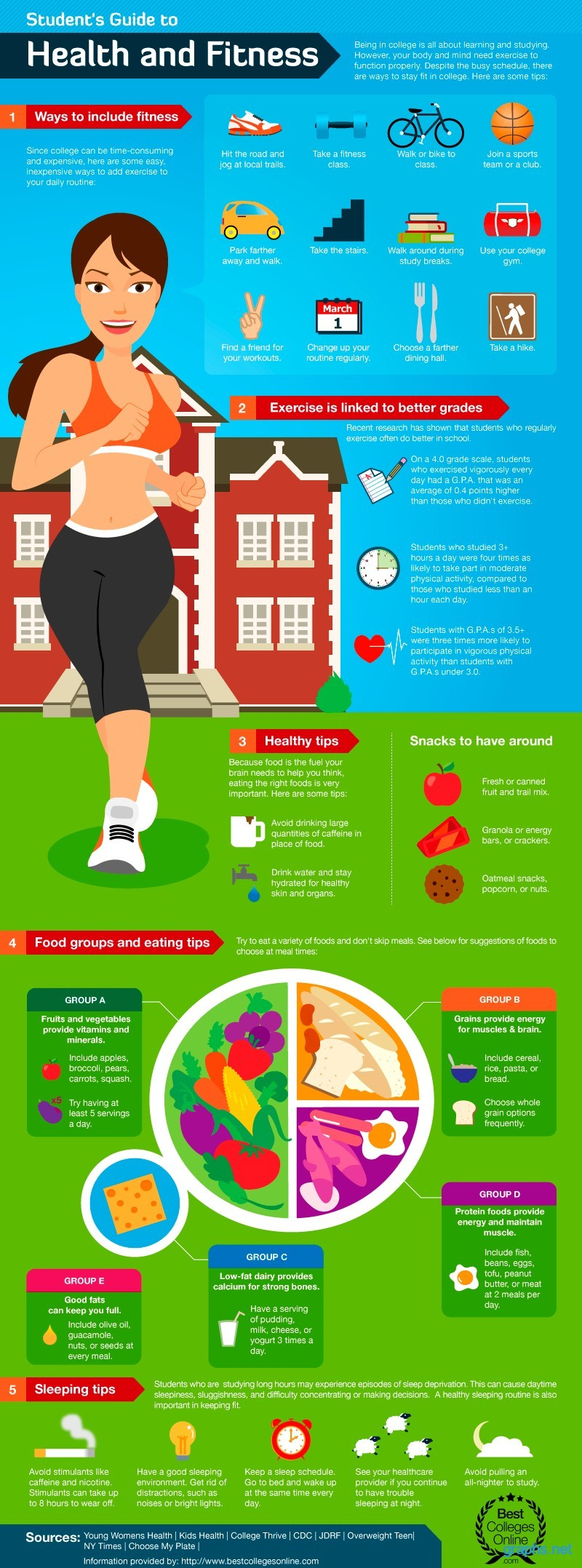 health and fitness for students guide