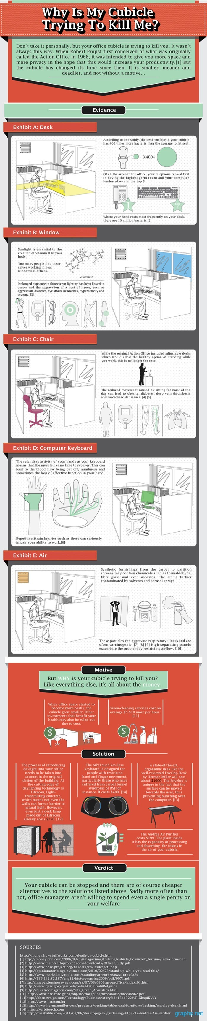 office cubicle tricks