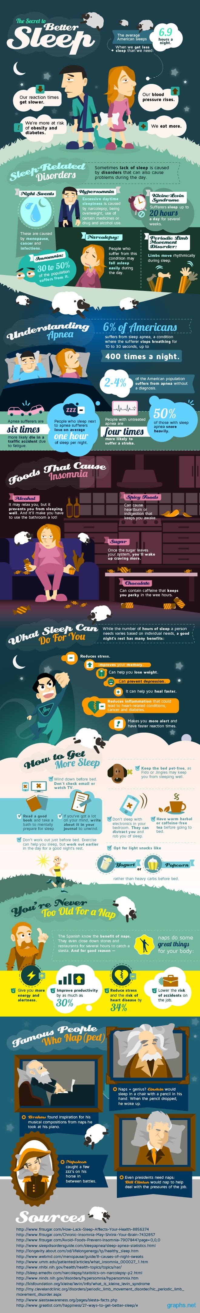 secrets to better sleep