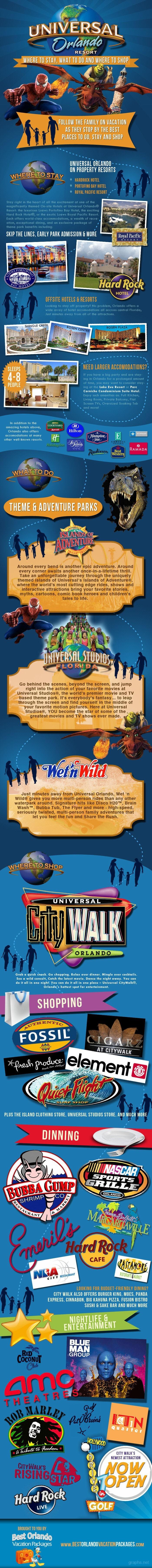 universal orlando facts