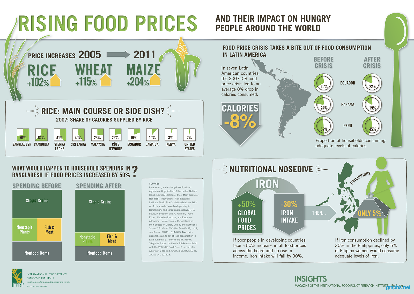 Impact of Rising Food Prices on the Poor