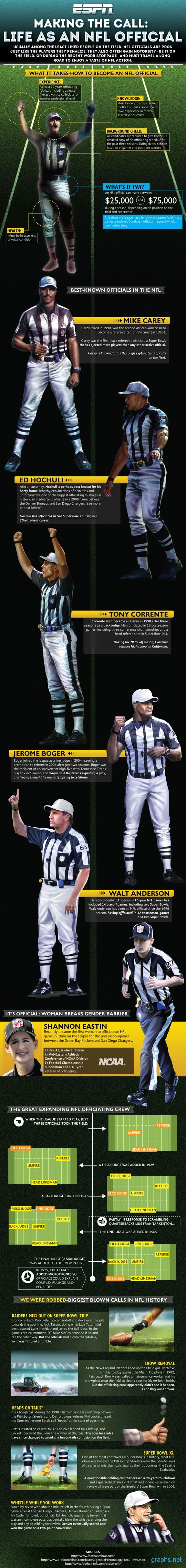 Life of an NFL Official