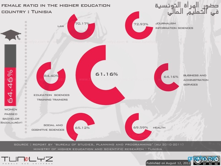 Statistics of Women in Higher Education