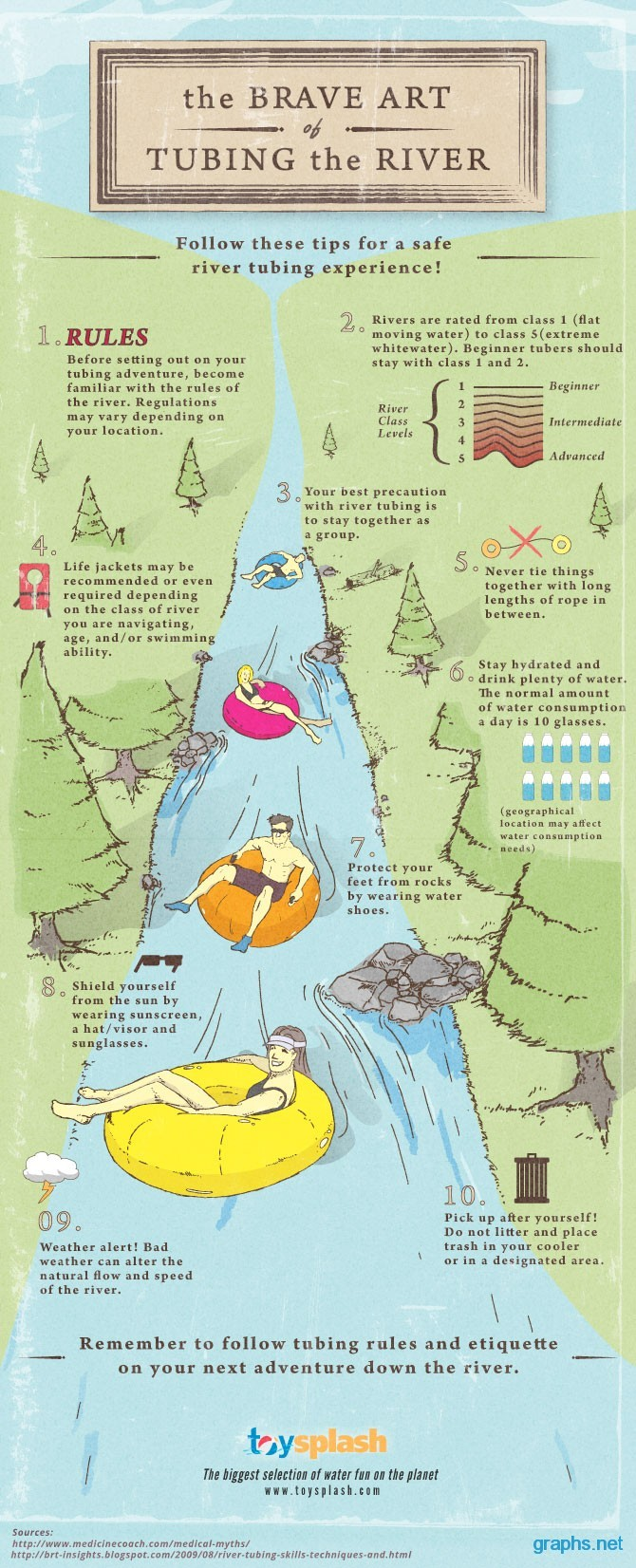 Tips for a Good Float
