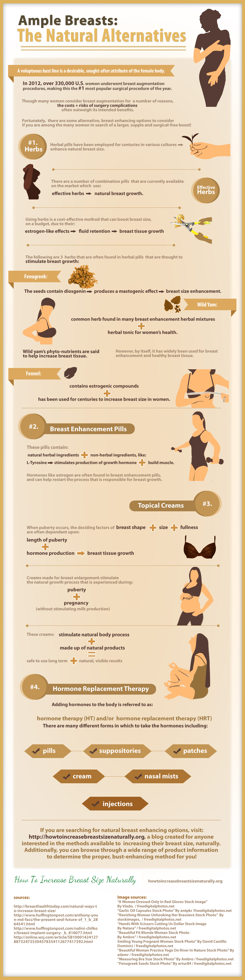 Few Natural Breast Enhancement Procedures to Have Large Breasts