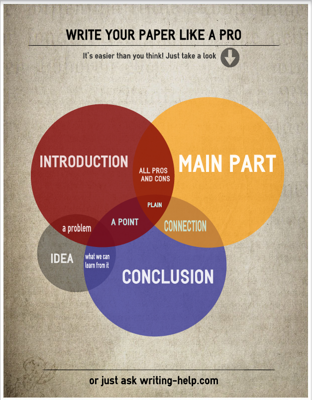 Write A Paper Like A Professional Infographic