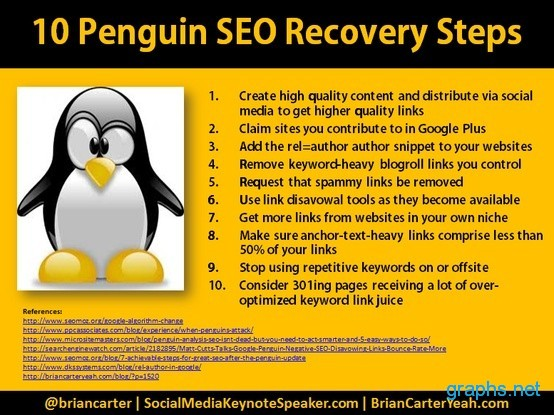 Penguin Recovery Tips