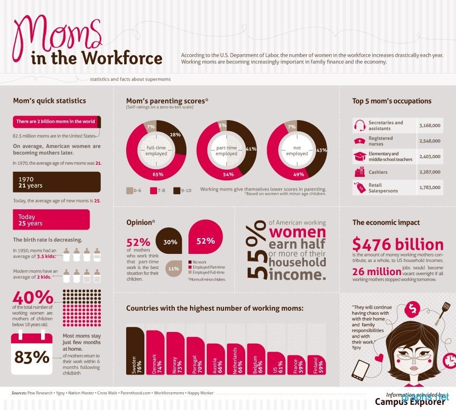 Working Moms Data