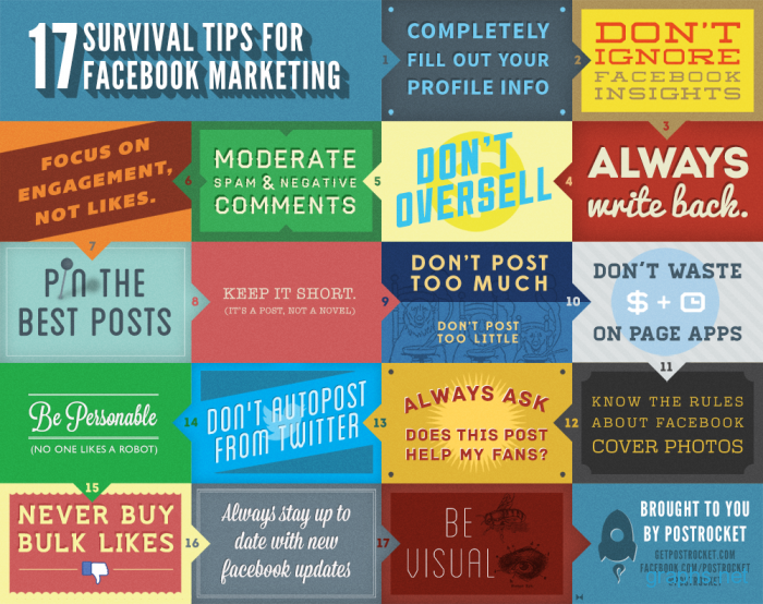 17 Essential Tips For Facebook Marketing