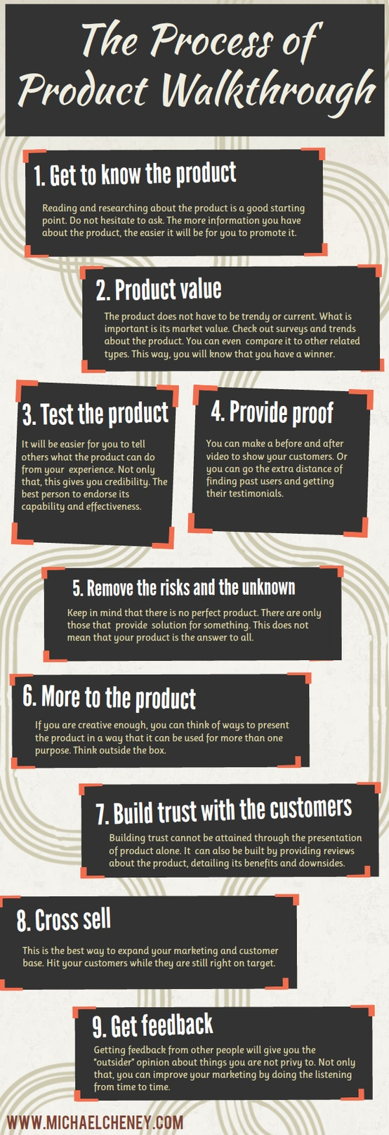 9 Steps To Promote a Product