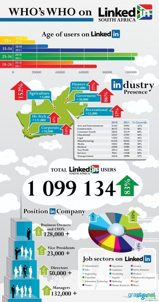 LinkedIn Users of South Africa