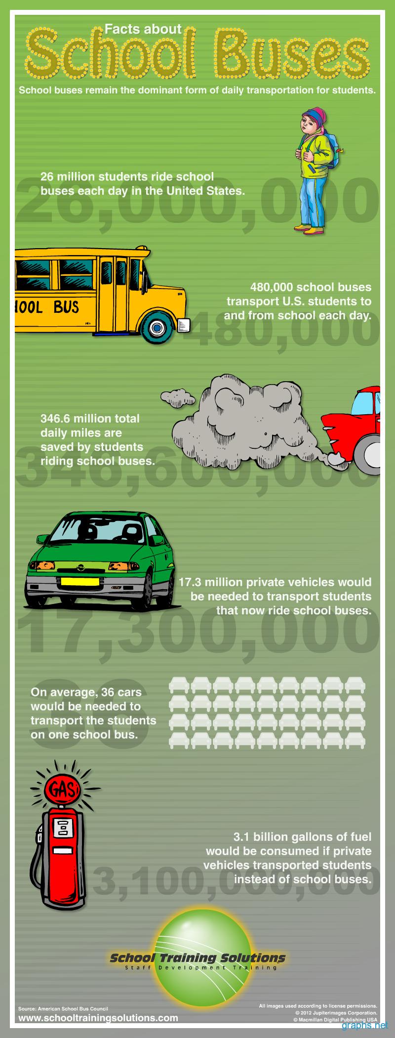 School Buses Statistics United States