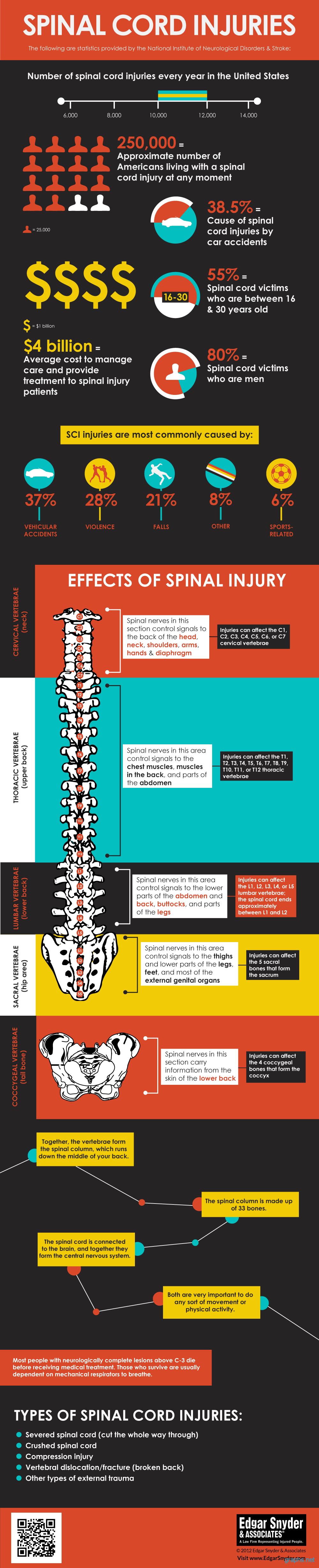 Spinal Cord Injuries in America