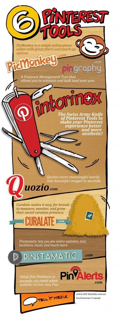 Top 6 Pinterest Tools