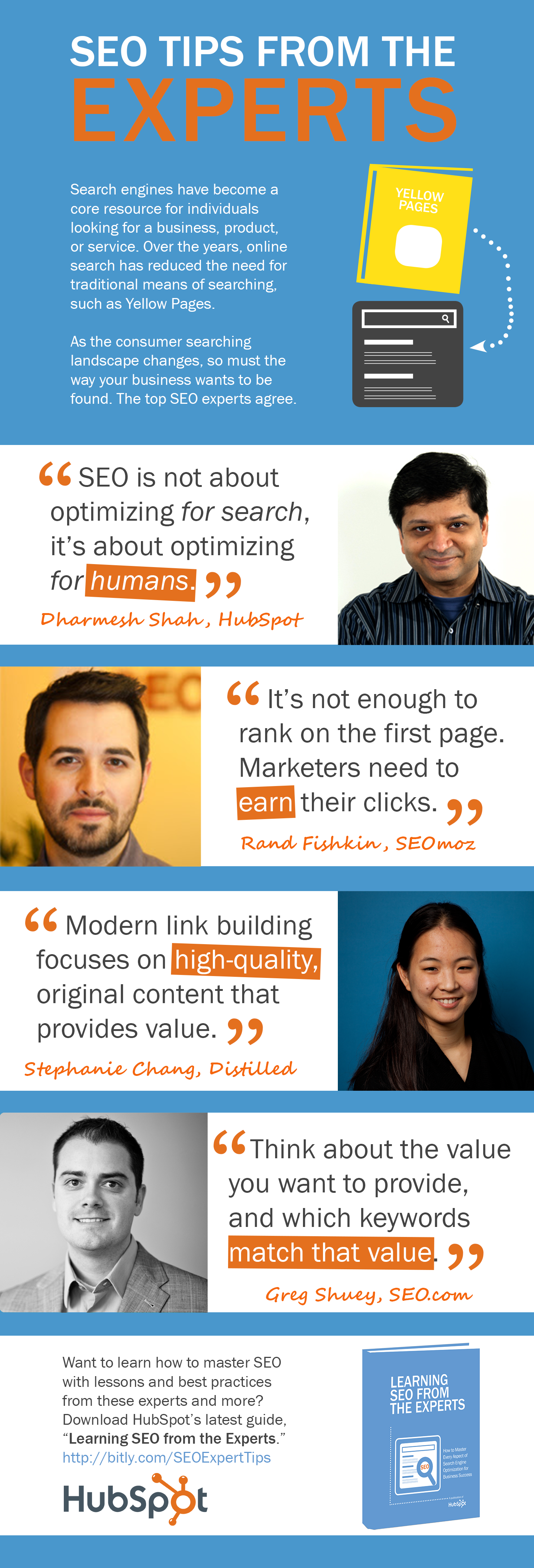 4 Important SEO Tips from Industry Experts