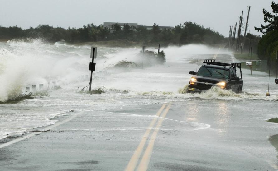 Hurricane Sandy in Southampton, New York