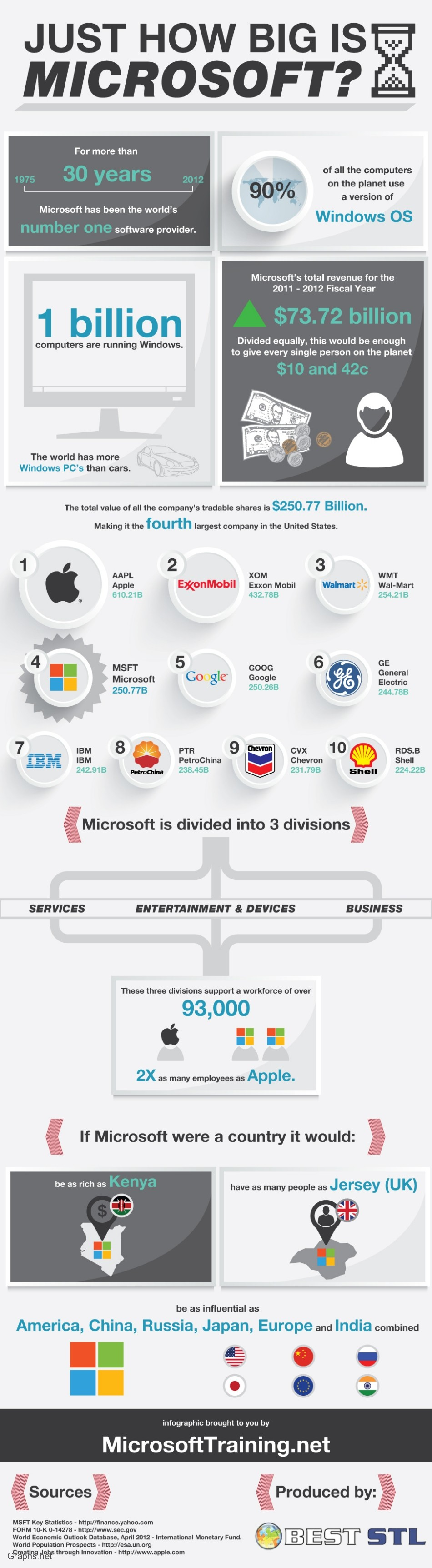 Microsoft - World's Largest Software Provider
