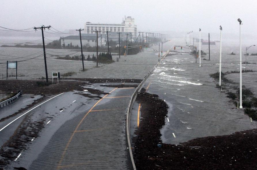 Super Storm Hurricane Sandy Atlantic City New Jersey