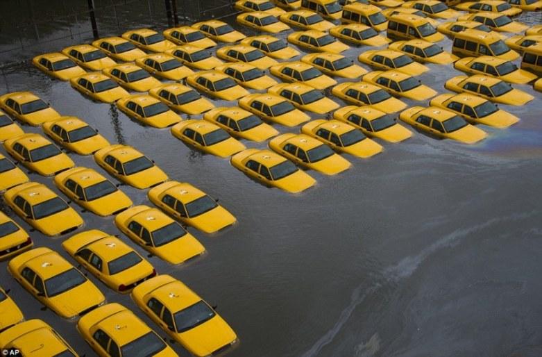 Super Storm Hurricane Sandy Hoboken New Jersey