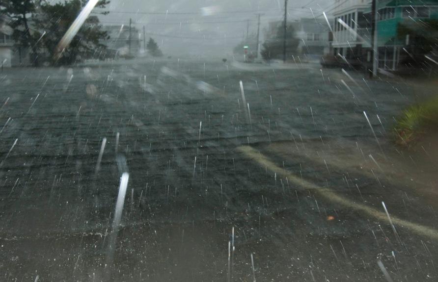 Super Storm Hurricane Sandy in Delaware