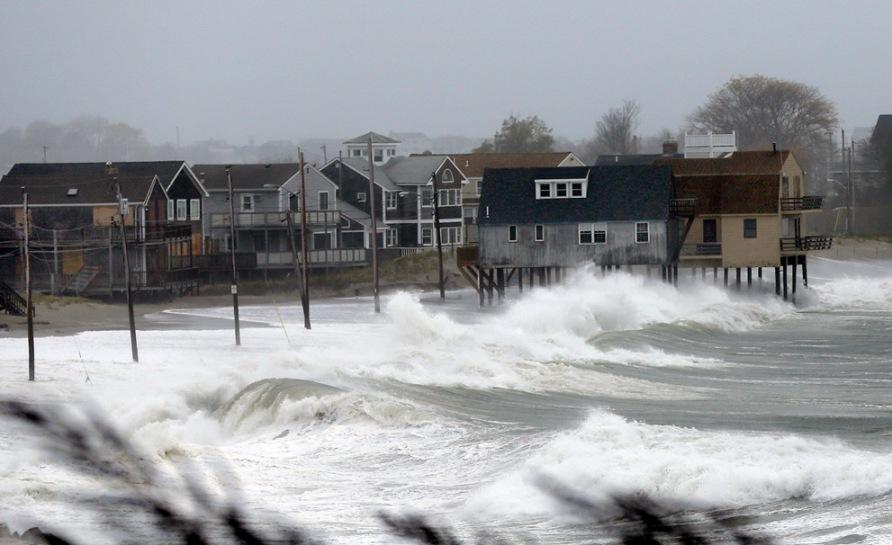 Super Storm Hurricane Sandy in Massachusetts