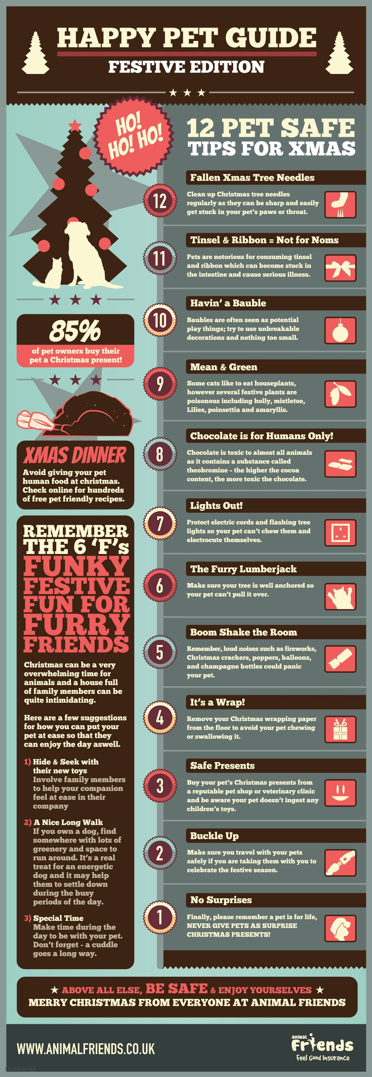 Top 12 Tips for Pet Safe Chirstmas