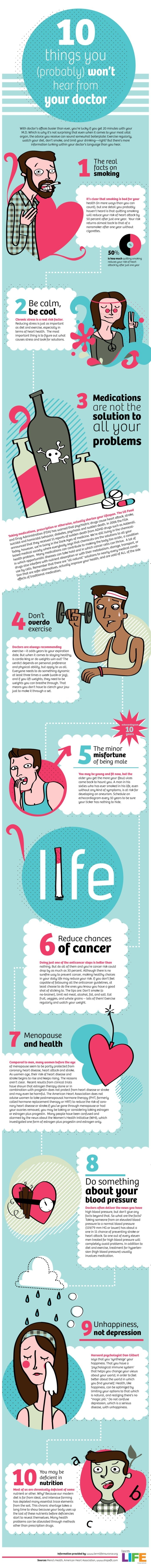 10 Health Facts You Should Know