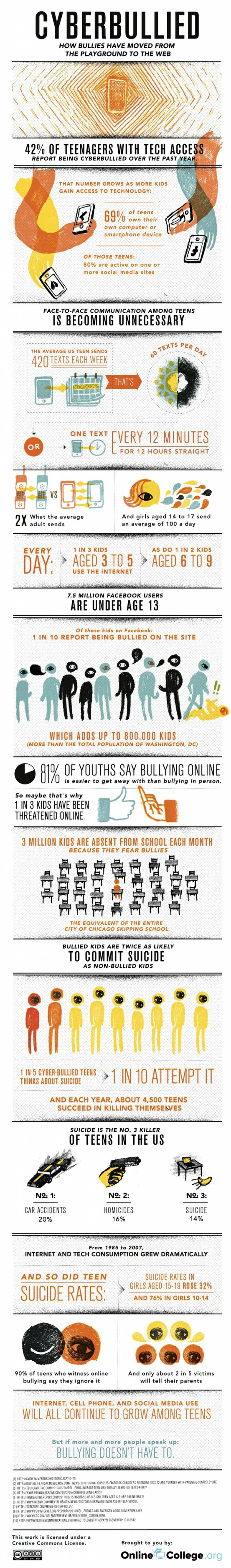 Cyber Bullies on the Rise