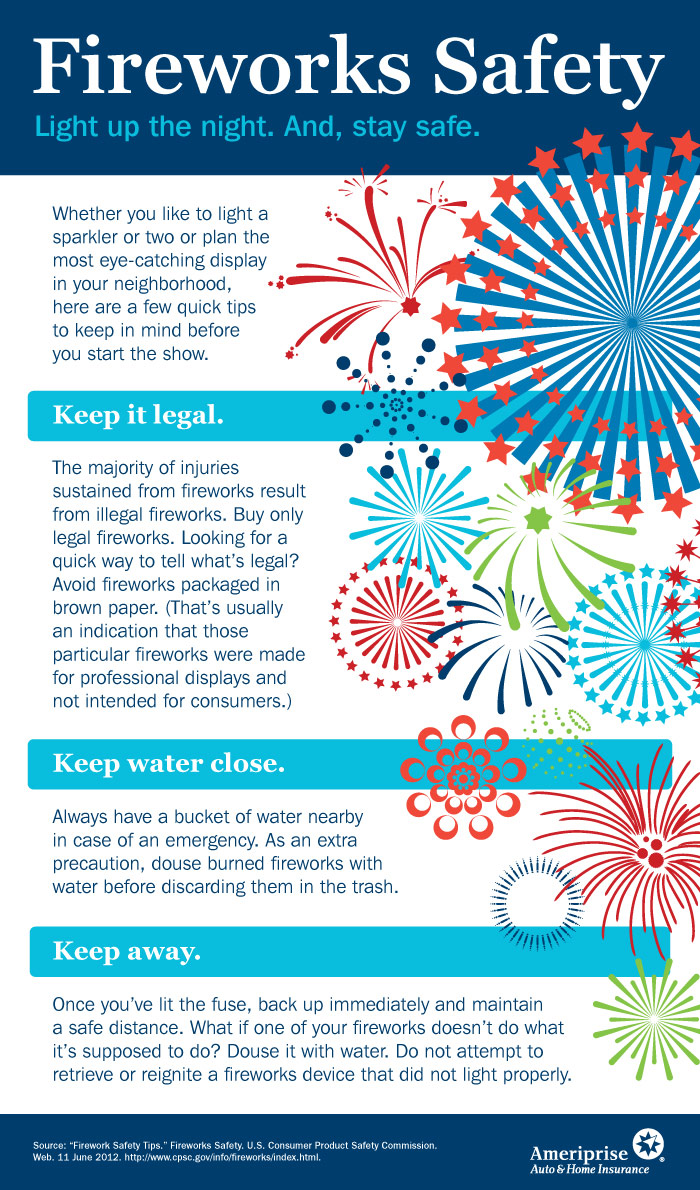 Top 9 Firework Infographics