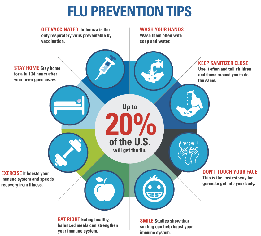 Top 12 Flu Infographics - Infographics | Graphs.net