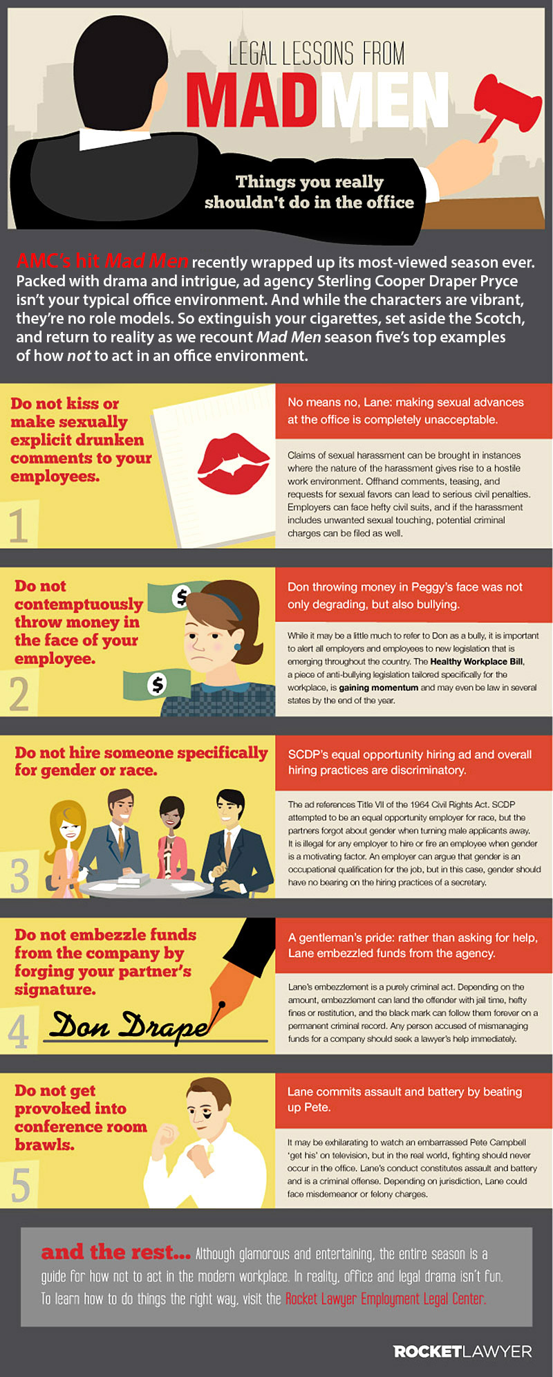 Learn from Mad Men How to Behave in Office
