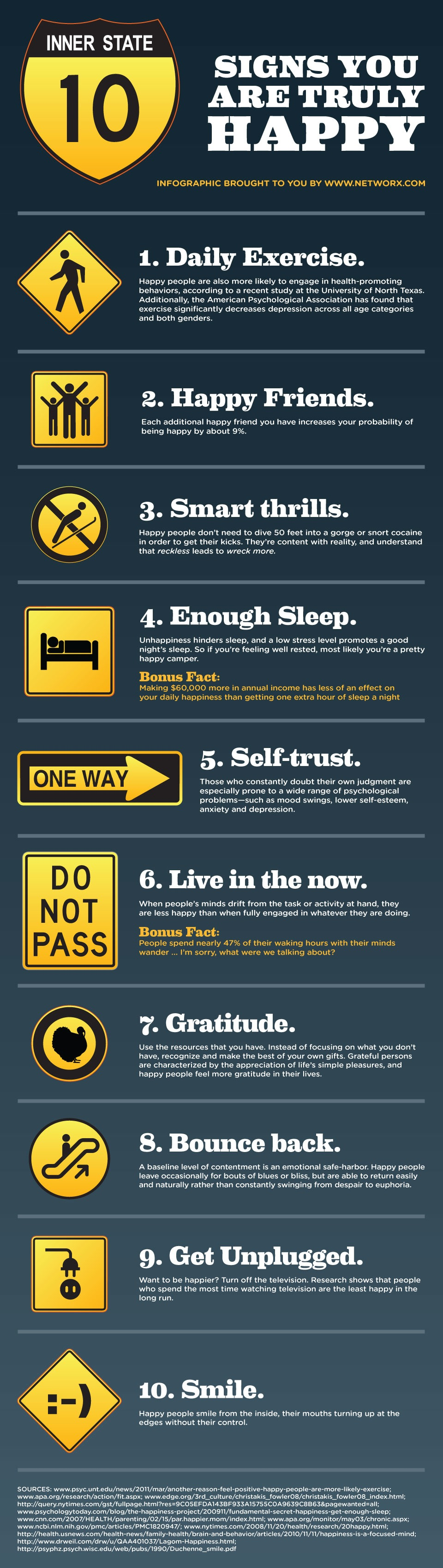 10 Signs that Show You are Happy