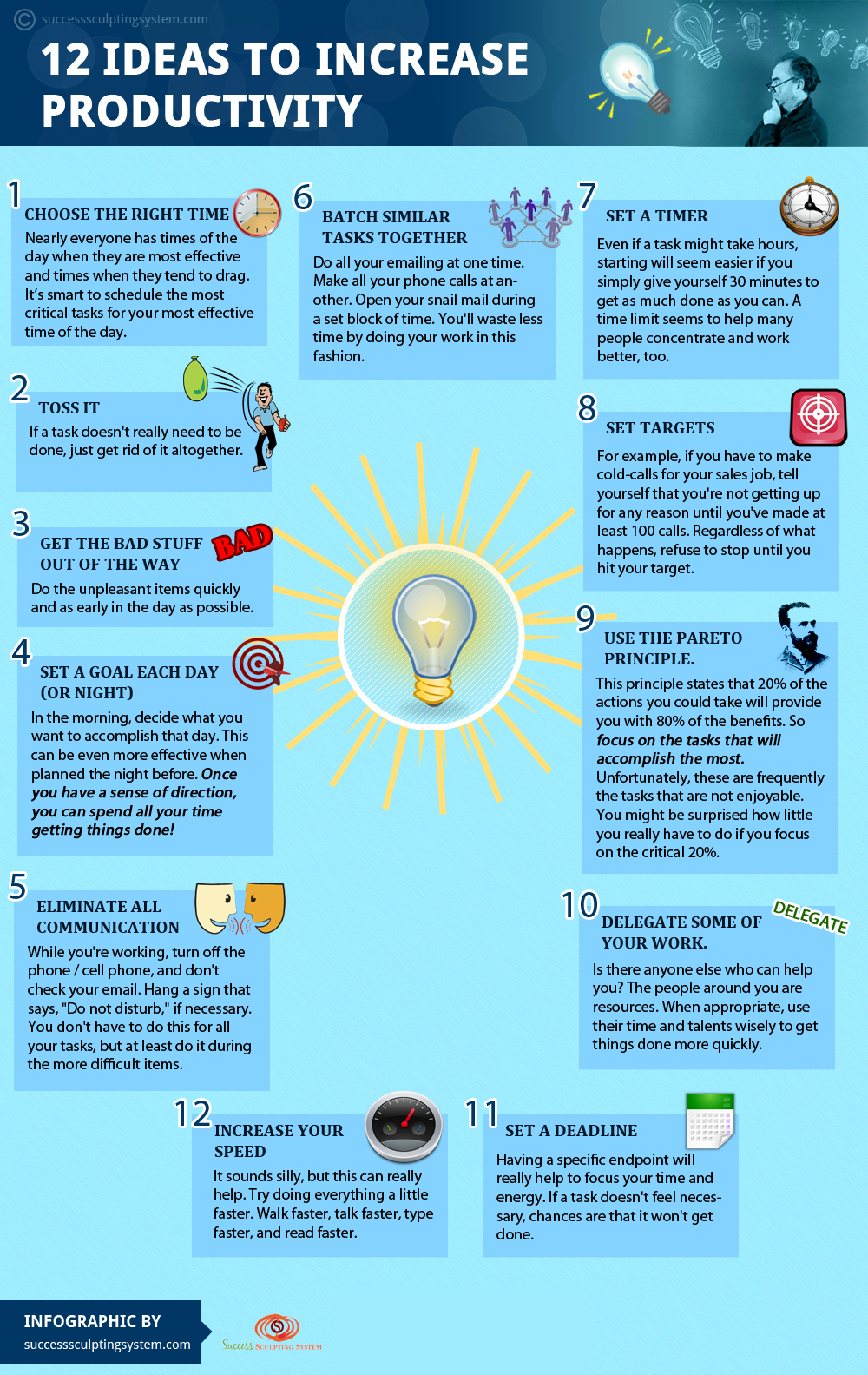 10 Tips for Improving Productivity