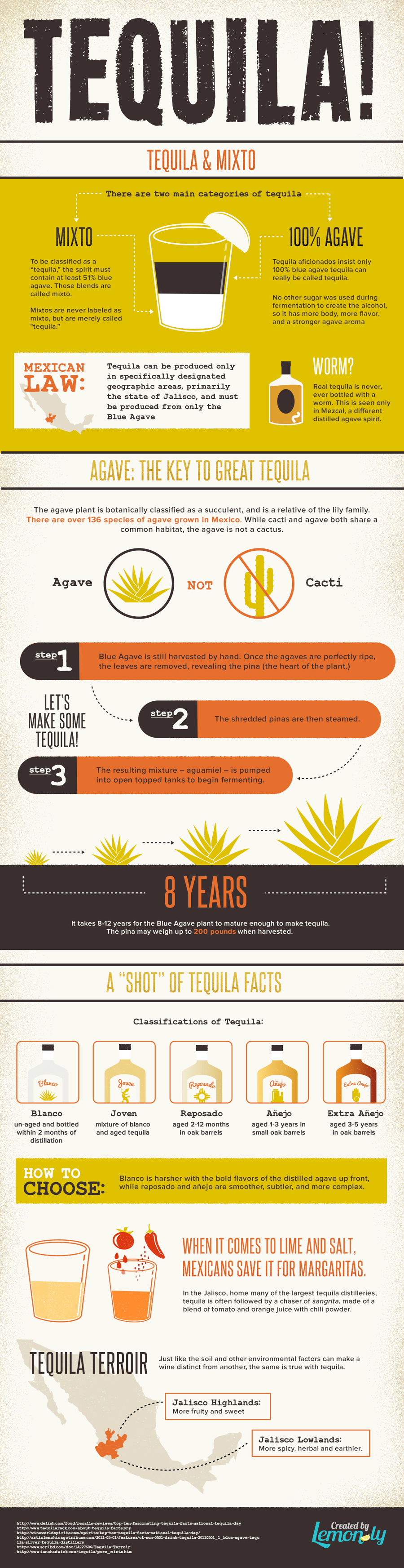 facts about tequila