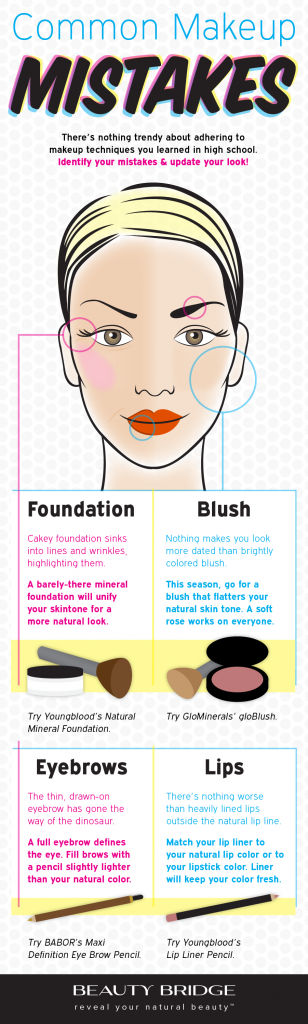 Tips on How to Avoid Common Makeup Errors