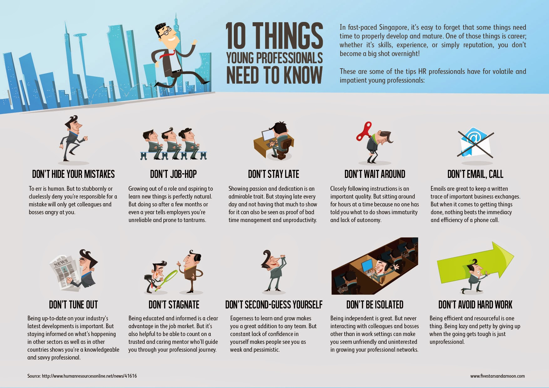 10 Things a Young Professional Should Know