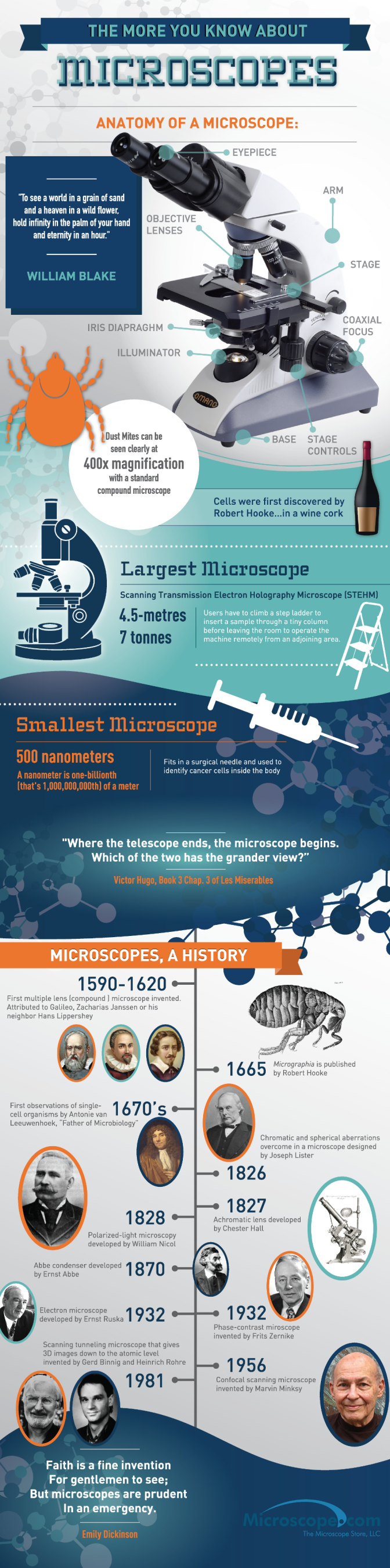 Interesting Facts About Microscope