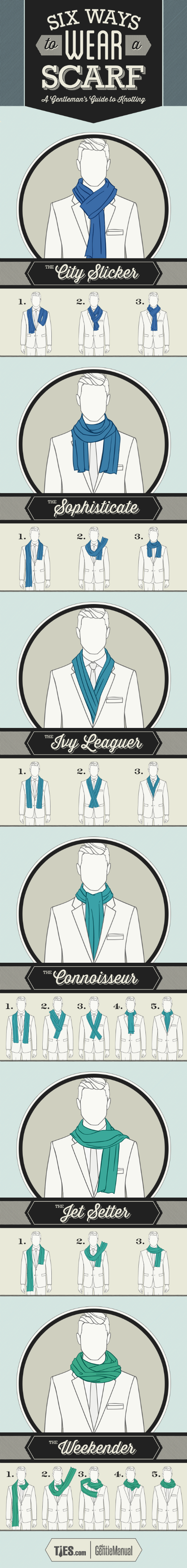 6 Ways To Tie Scarf