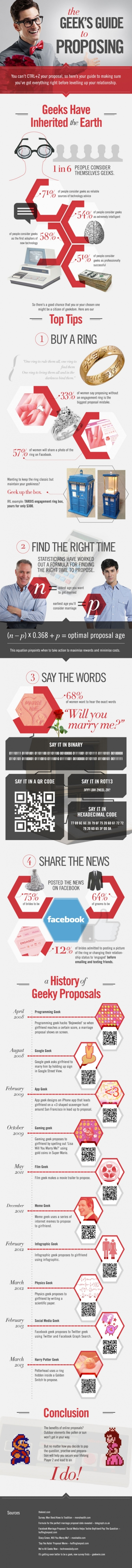 The ultimate geek marriage proposal guide