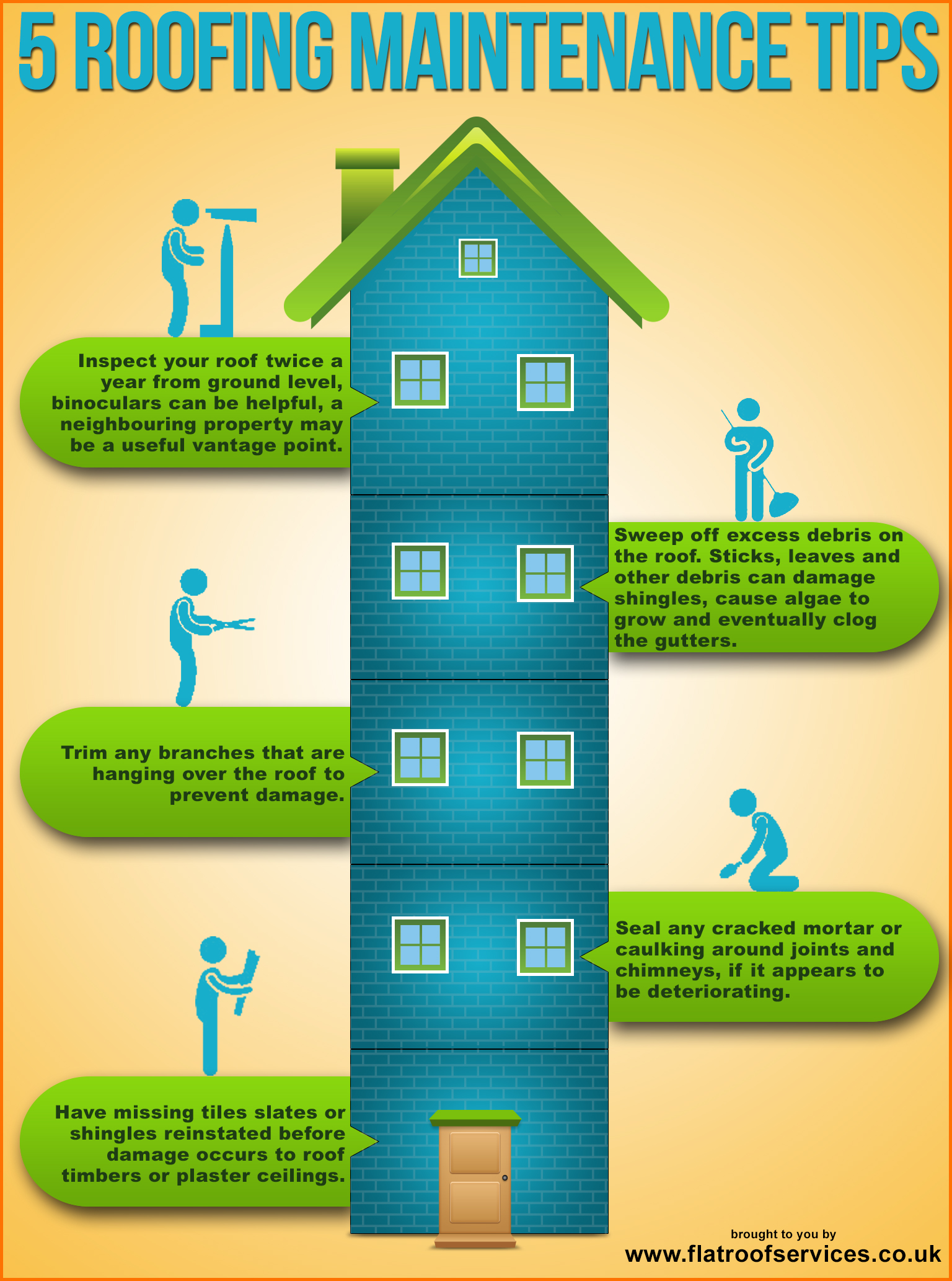 6 Roof maintainence-infographic