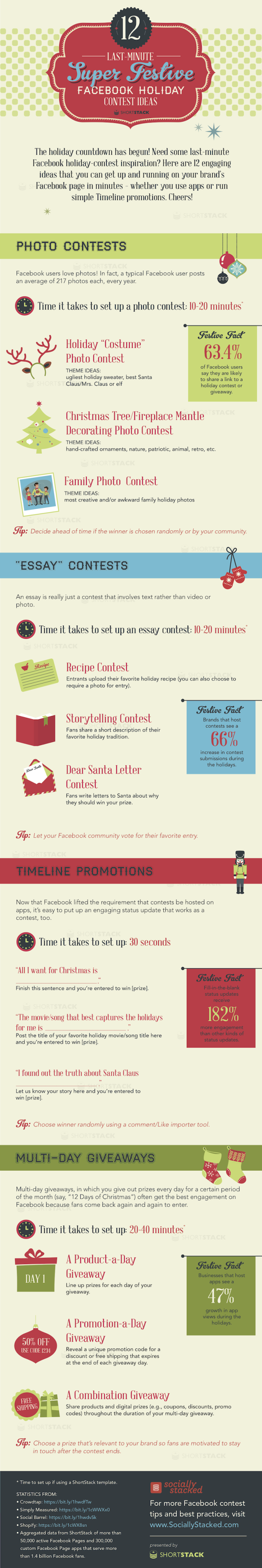 Last Minute Ideas For Holiday Contests On Facebook