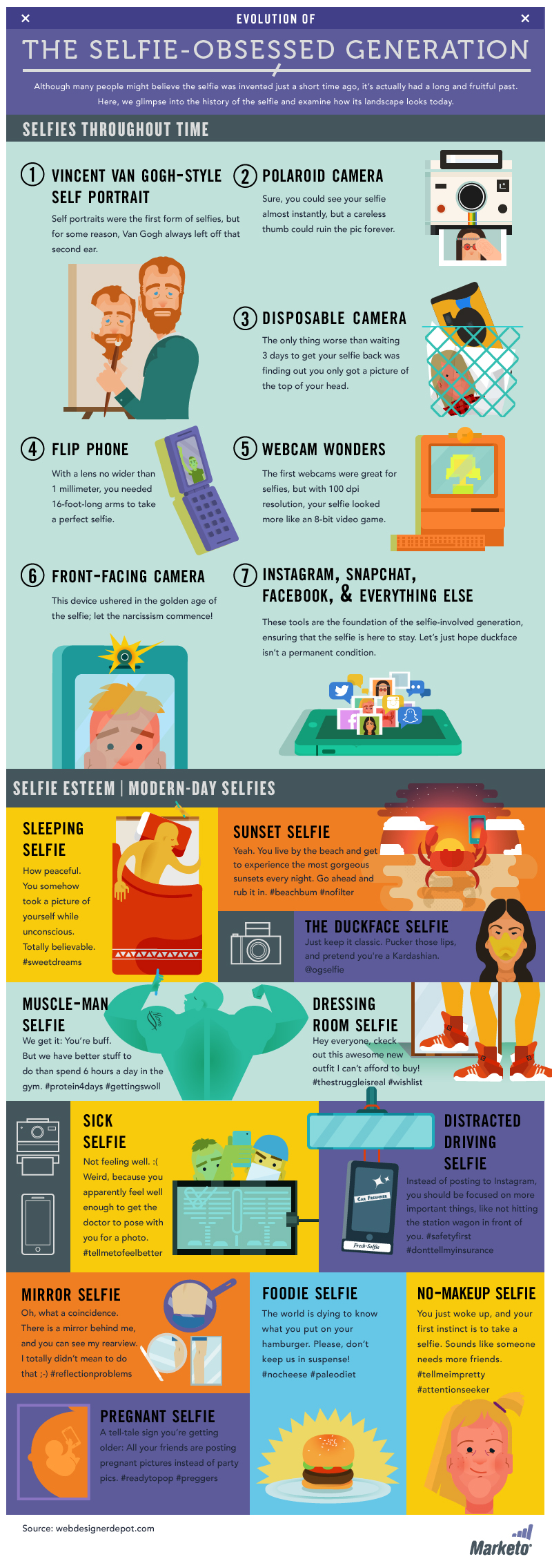 17 Evolution-of-the-Selfie-Infographic