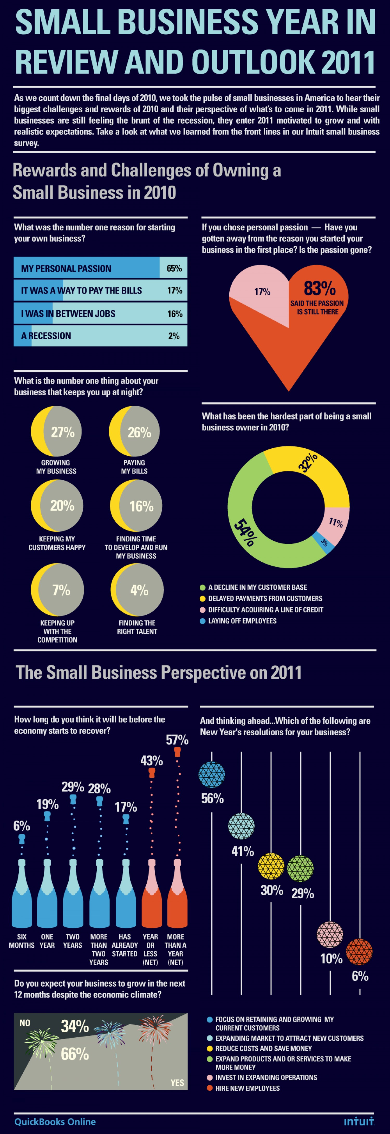 Small Business year Review and outlook 2011