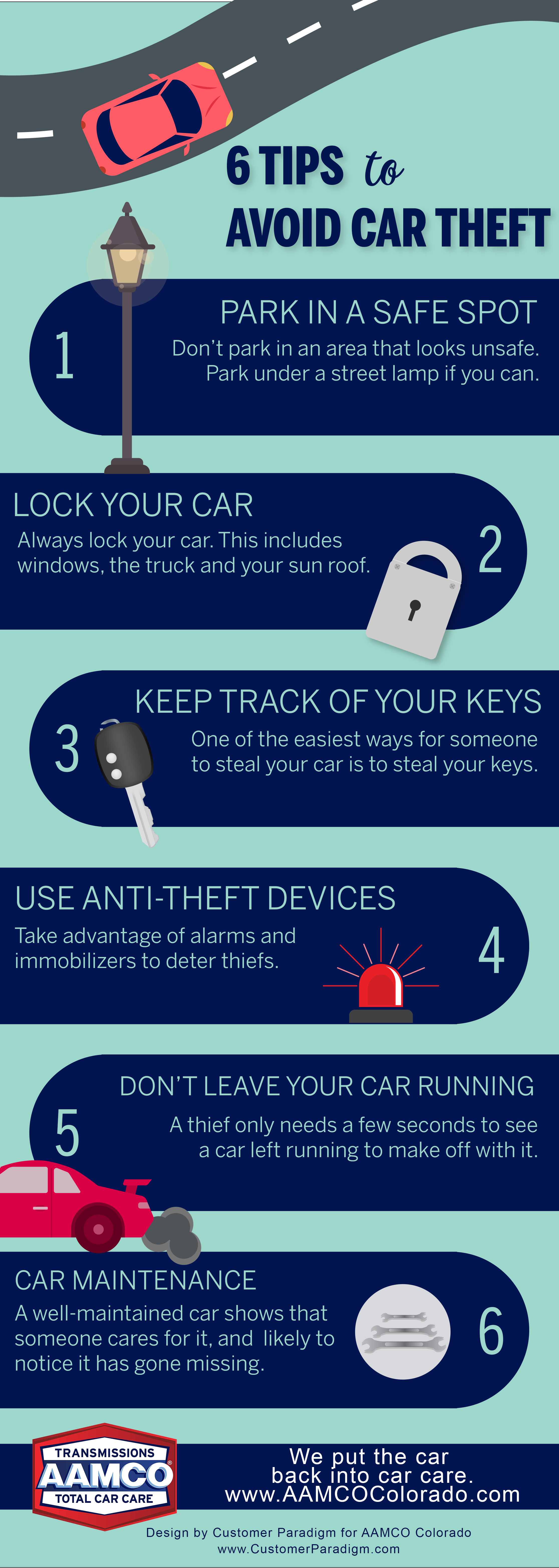 Car Theft Infographic