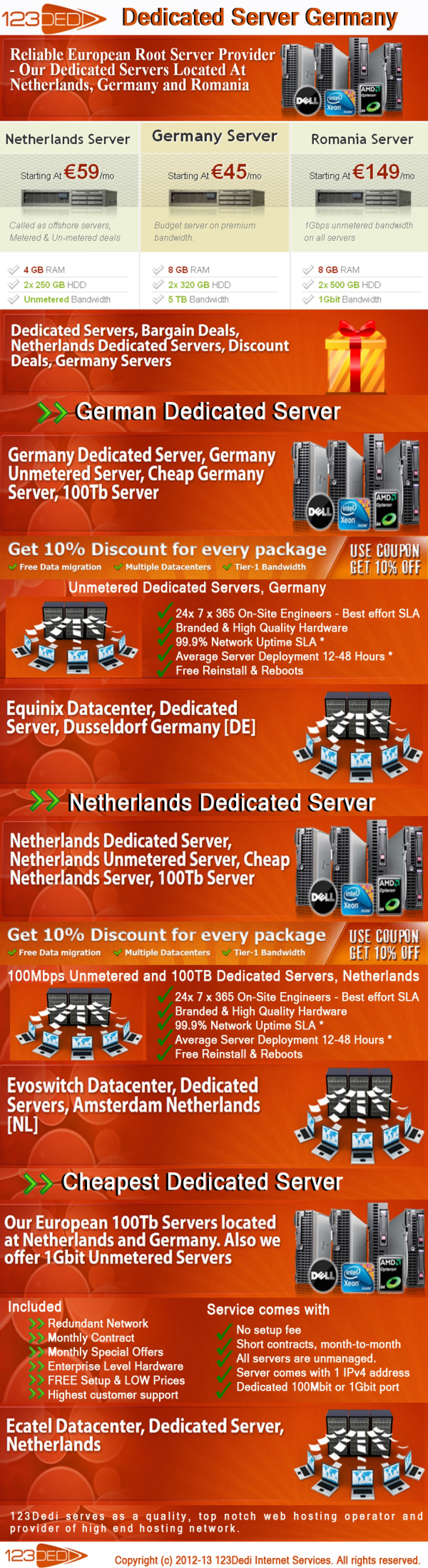 13. Dedicated server Germany