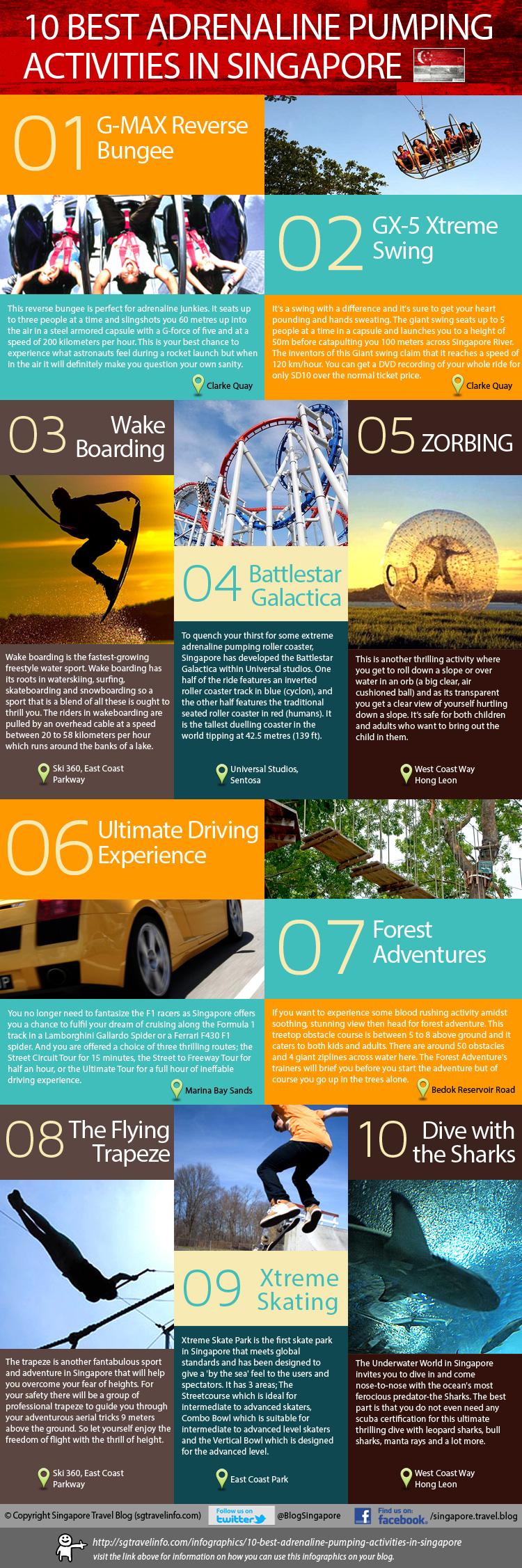 19. Ten Best Adrenaline Pumping Activities in Singapore
