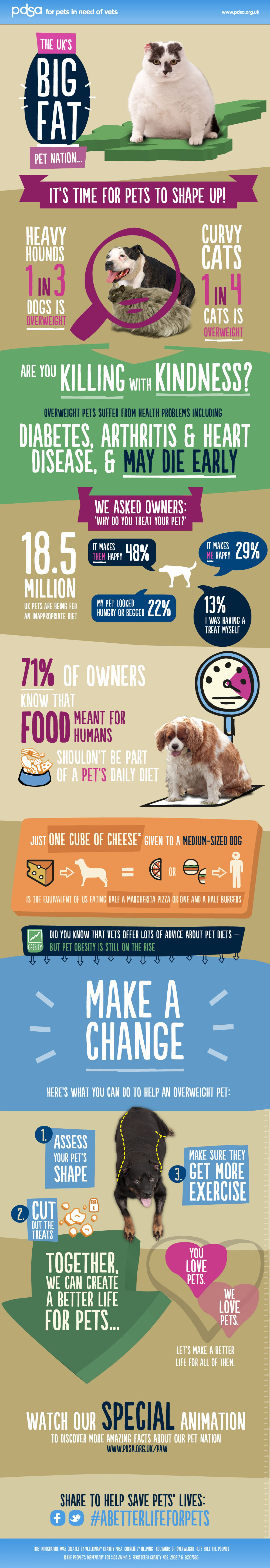 4. Big Fat Pet Nation Obese Pets in The UK Facts